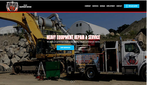 Bontra Web Design - D & D Equipment Repair