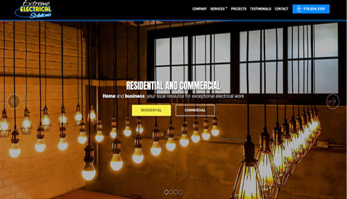 Bontra Web Design - Extreme Electrical Solutions