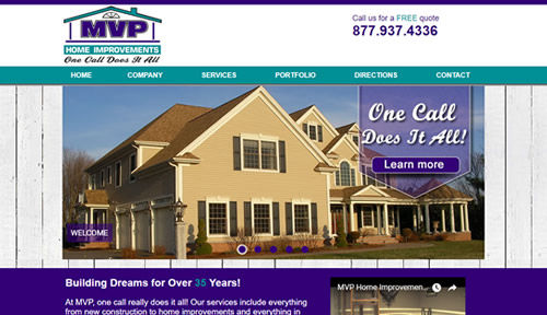 Bontra Web Design - Merrimack Valley Golf Club