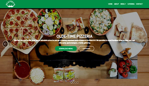 Bontra Web Design - Stacheys Pizza and Catering